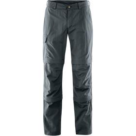 Maier Sports Saale Pantalon convertible avec fermeture éclair Homme, graphite